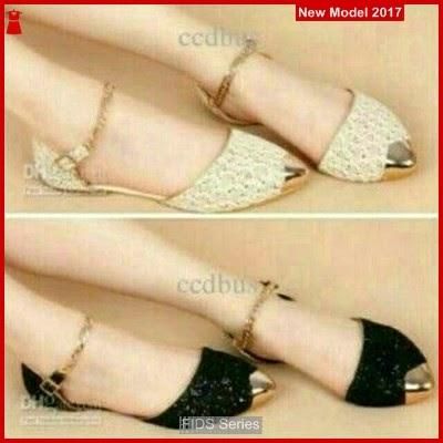 FIDS131 Sepatu Wanita Flat Brukat Diadora BMGShop