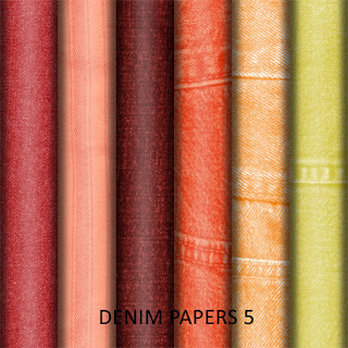 ATS freebie - Denim papers set 5