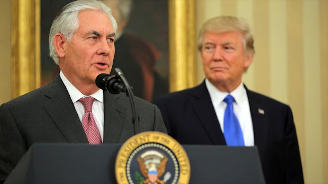 Tillerson se distancia de Trump por los disturbios de Virginia