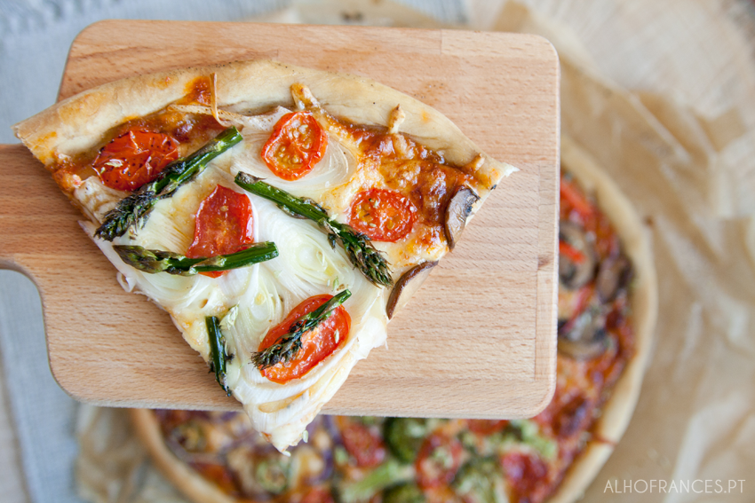 Massa de pizza fina bimby