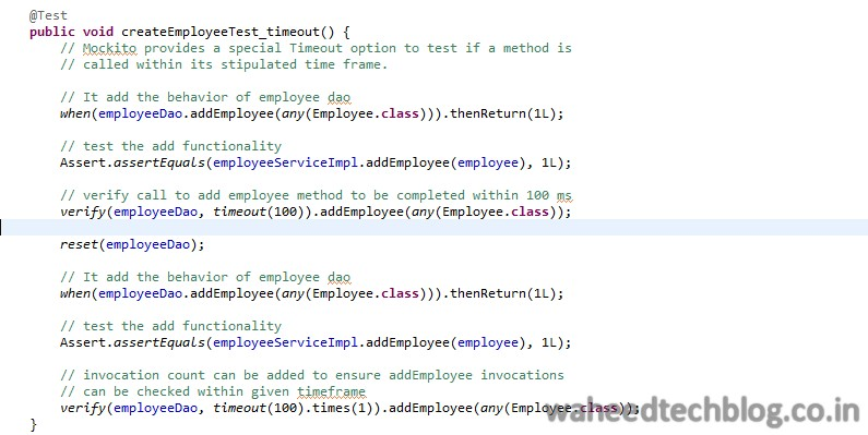 Tech Blog: Mocking in Java using Mockito
