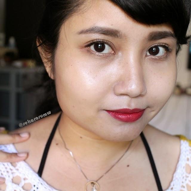 FOTD Lipstik Merah
