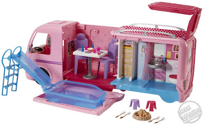 Toy Fair 2019 Mattel Barbie Camper 05