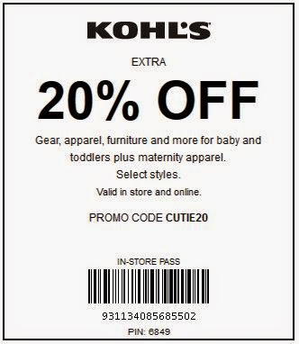 image regarding Modells Printable Store Coupon named Kohls Printable Coupon codes Could 2018 - Discount codes Printable 2018