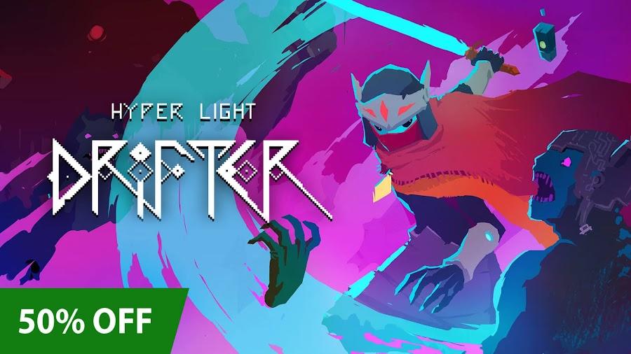 hyper light drifter xbox pixel art sale