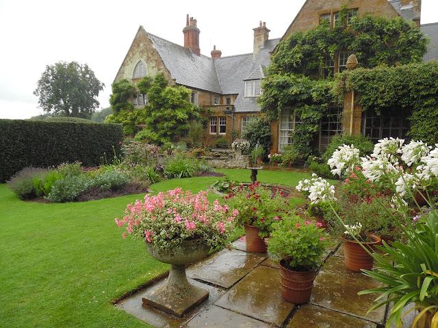 Old Rose Garden, ogród angielski