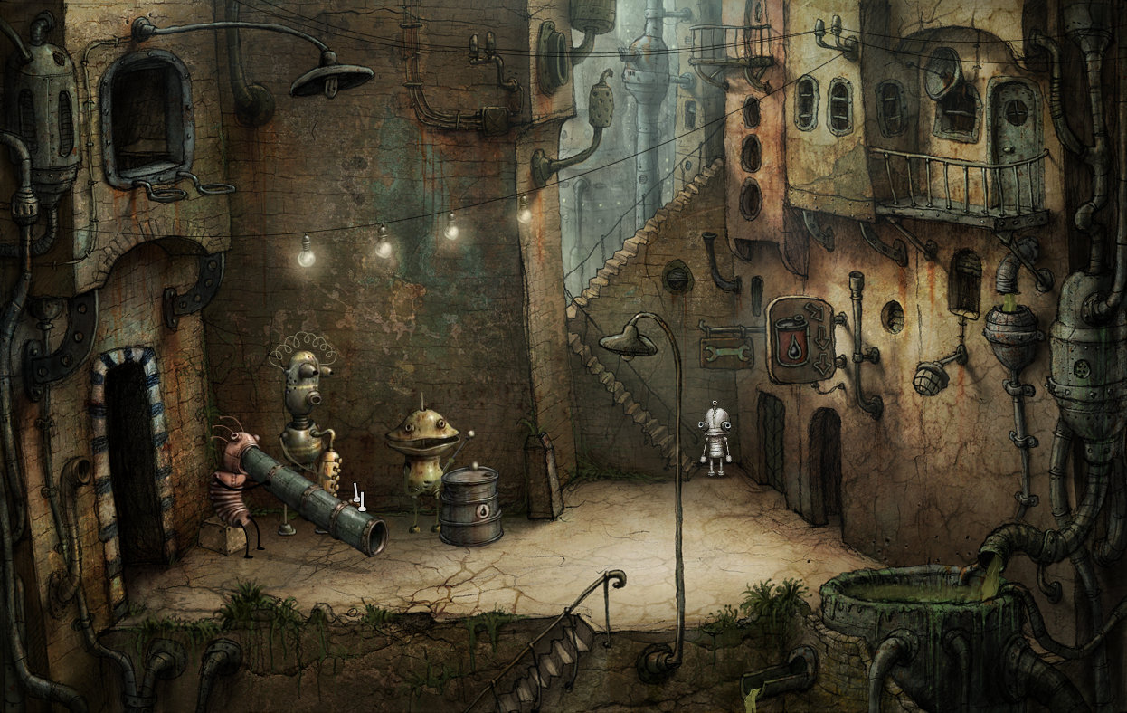 Steampunk Game Online