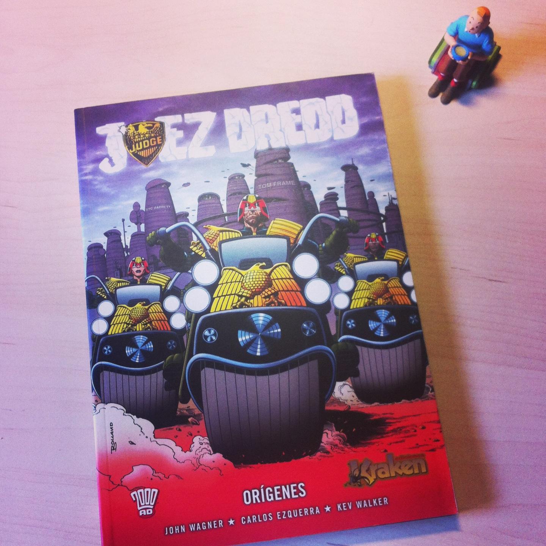 Juez Dredd comic origenes