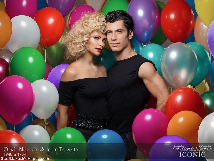 20. Olivia Newton and John Travolta