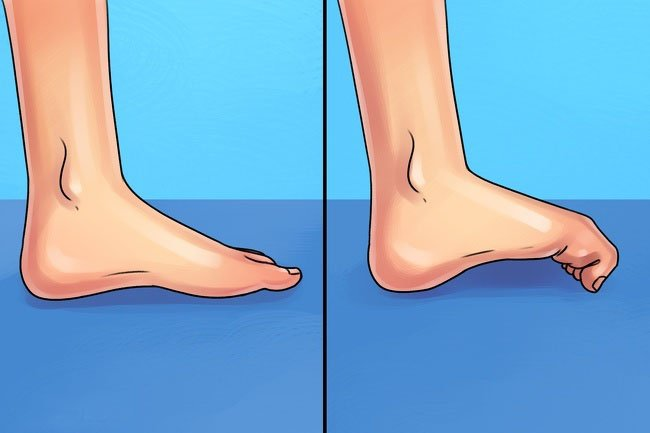 exercises easily relieves your foot pain