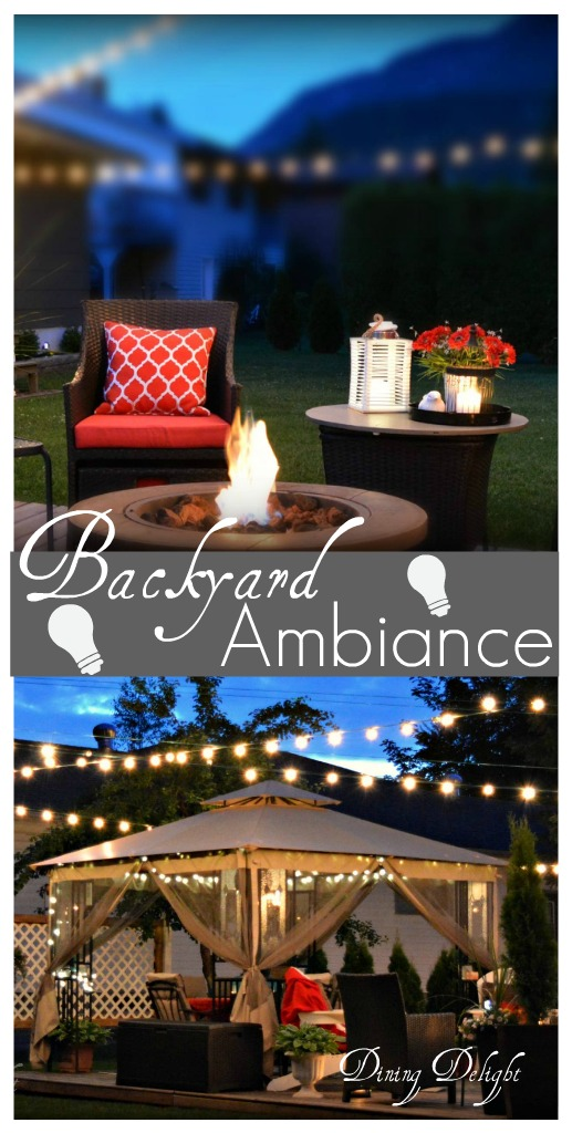 Summer Outdoor Lighting