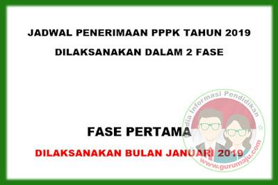 Penerimaan PPPK Dibuka Pada Bulan Januari 2019