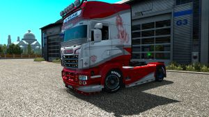 Reddrider skin for Scania RJL