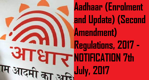 aadhaar-enrolment-and-update-second-amendment-paramnews