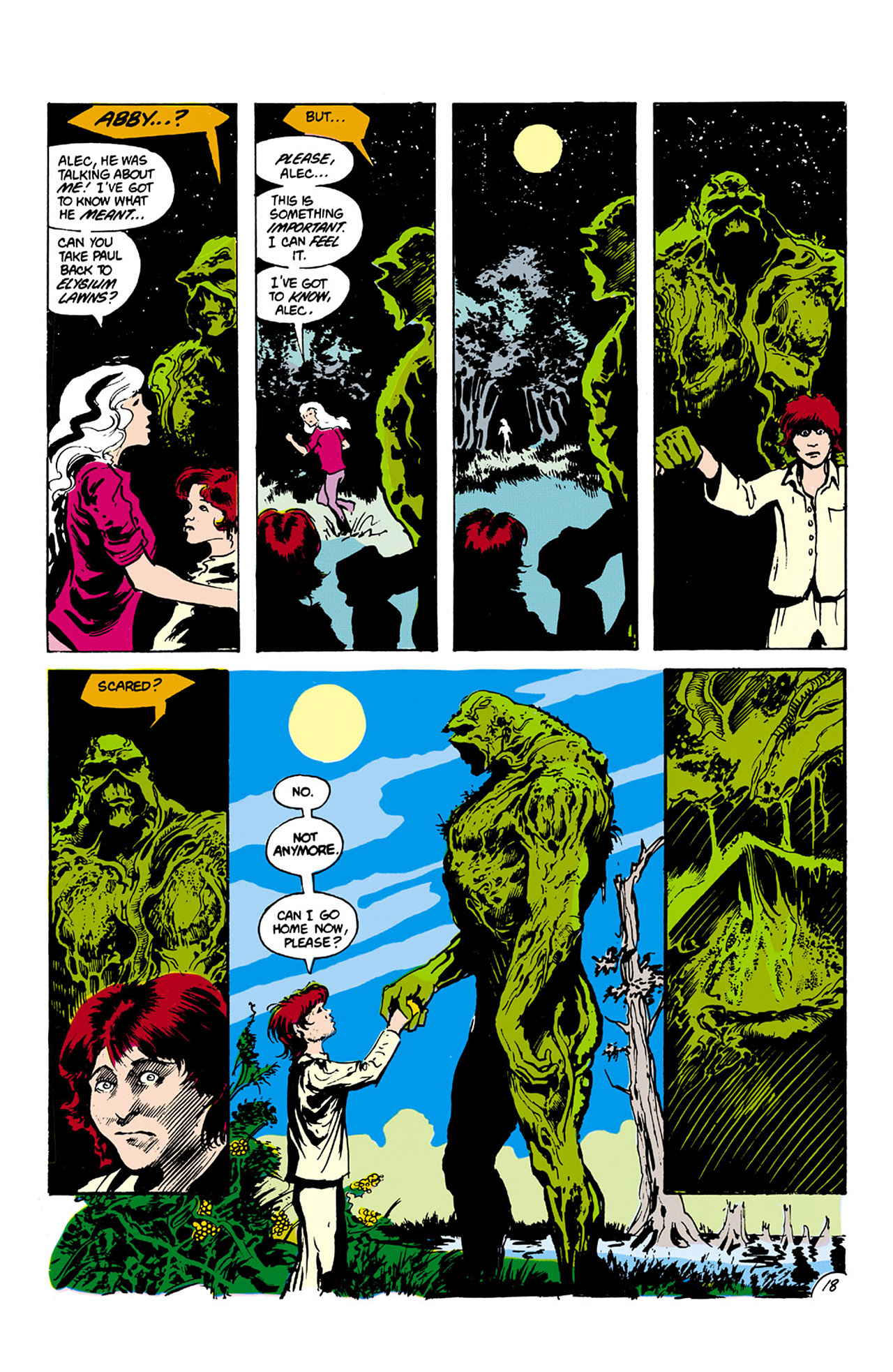 Swamp Thing (1982) Issue #27 #35 - English 18