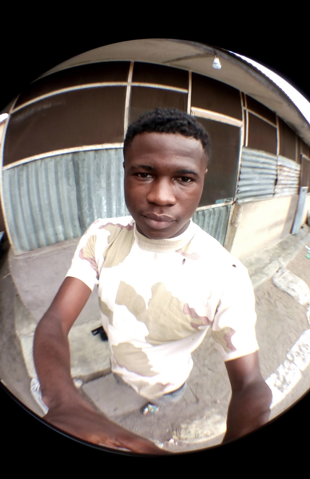 Picture Taken With Fish eye lens
