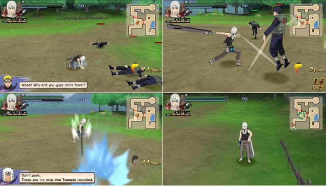 Naruto Shippuden : Ultimate Ninja Impact MOD Texture Suigetsu [Mangetsu Hozuki Edo Tense] For PPSSPP Terbaru