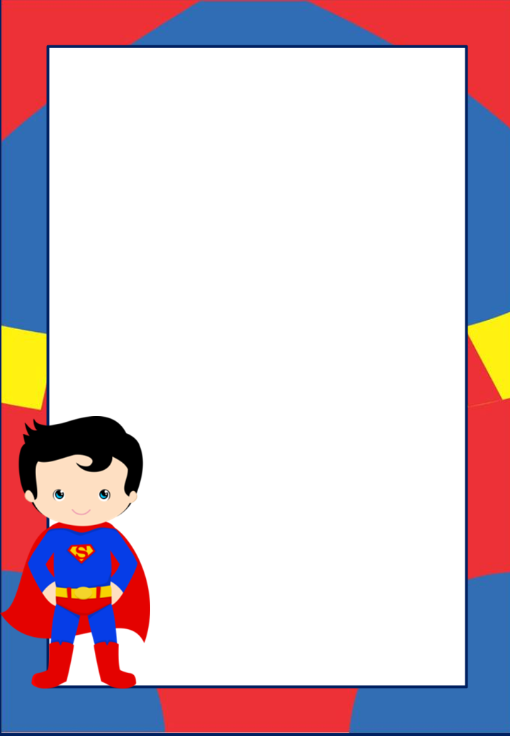 Free Printable Superman Invitations Cards Or Labels Oh My