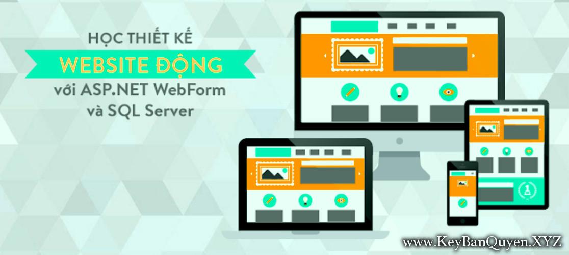 Khóa Học thiết kế Website động với ASP.NET WebForm và SQL Server
