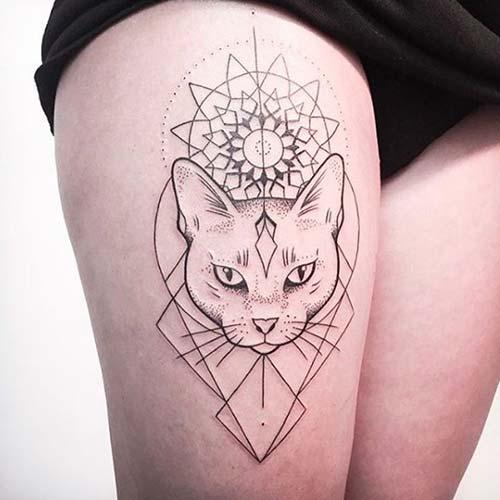 kedi dövmeleri cat tattoos 45