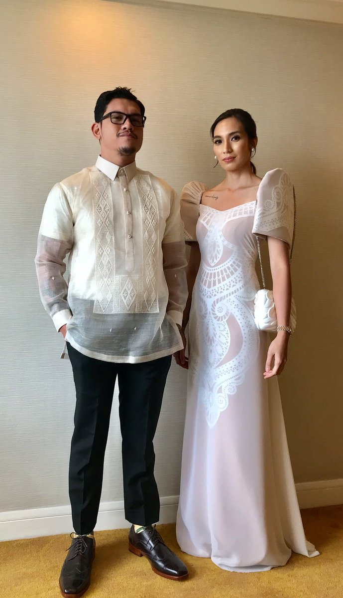 President Duterte's son Baste Duterte and his partner Kate Necesario
