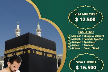 Biaya Paket Haji Plus Langsung Berangkat Tahun 2019