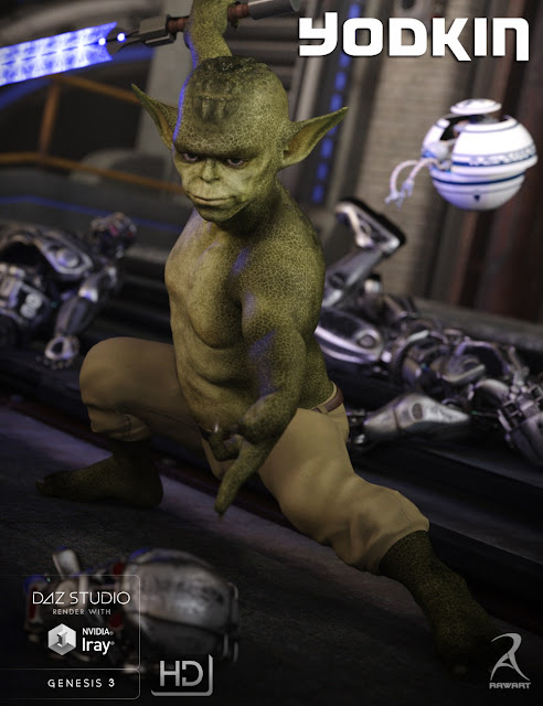 Yodkin for Genesis 3 Male