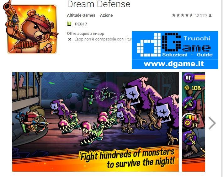 Trucchi Dream Defens Mod Apk Android v1.2.98