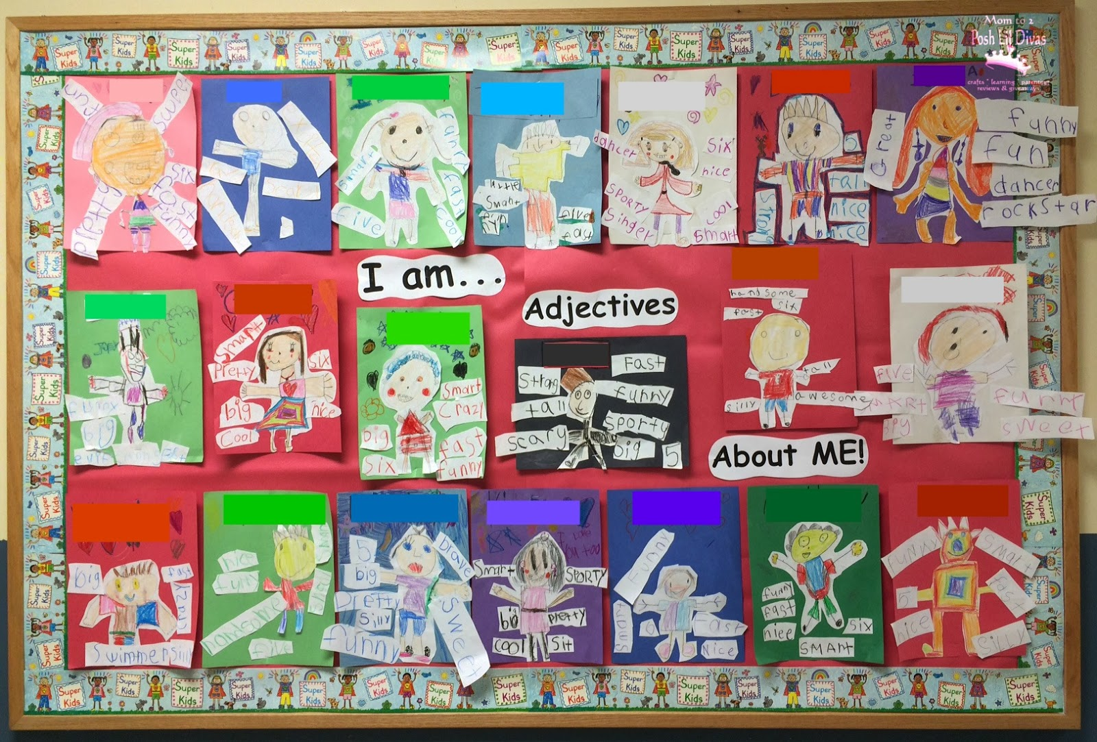 Ideas For Teaching Adjectives First Grade