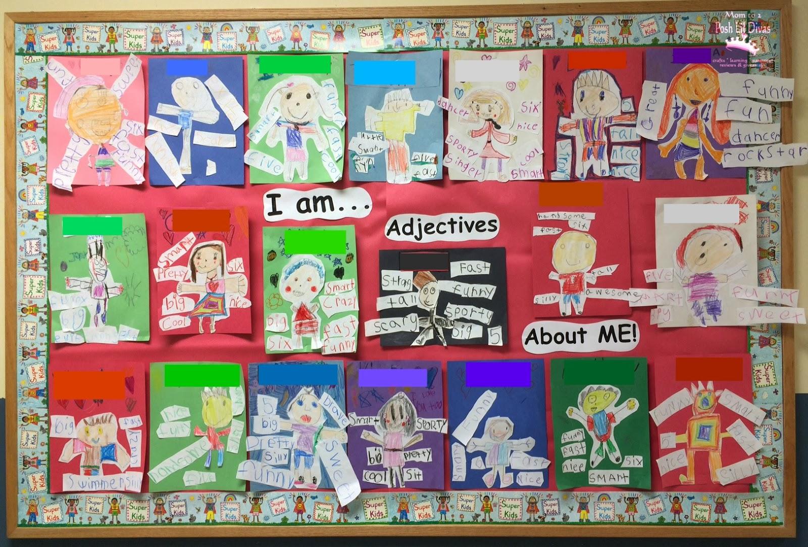 Ideas For Teaching Adjectives First Grade