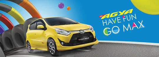 Harga Mobil Toyota New Agya di Jakarta, Depok, Tangerang, Bekasi, Bogor, Serang 2017