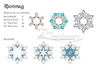 Rionnag Anleitung mit Rulla-Beads | www.zeitunschaerfe.de