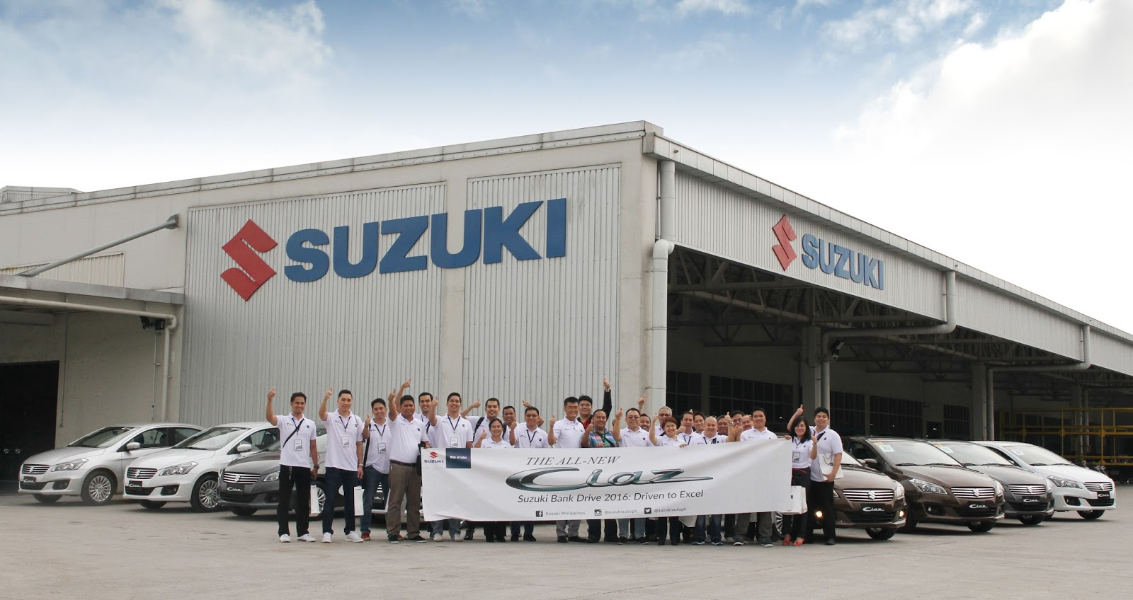 Suzuki Bank Test Drive