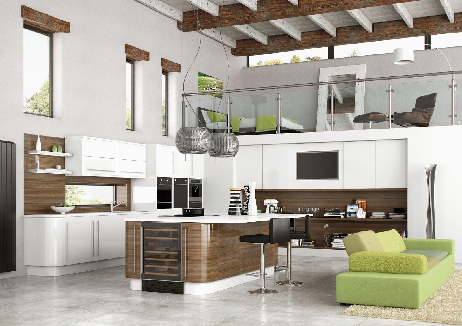 17 Warna  Cat  Dapur  Dan Ruang Makan Gambar Minimalis