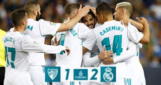 Malaga vs Real Madrid 1-2 Highlights