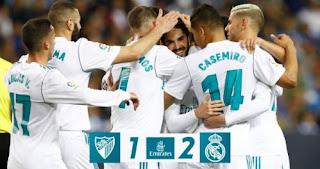 Malaga vs Real Madrid 1-2 Highlights