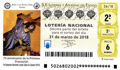 Resultado del sorteo de loteria nacional sabado 31 marzo 2018