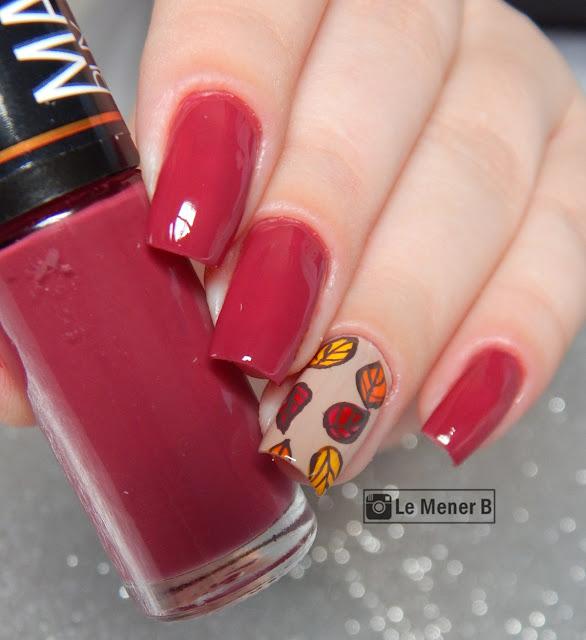 nail art outono