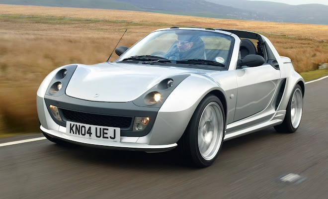 Smart Roadster front view