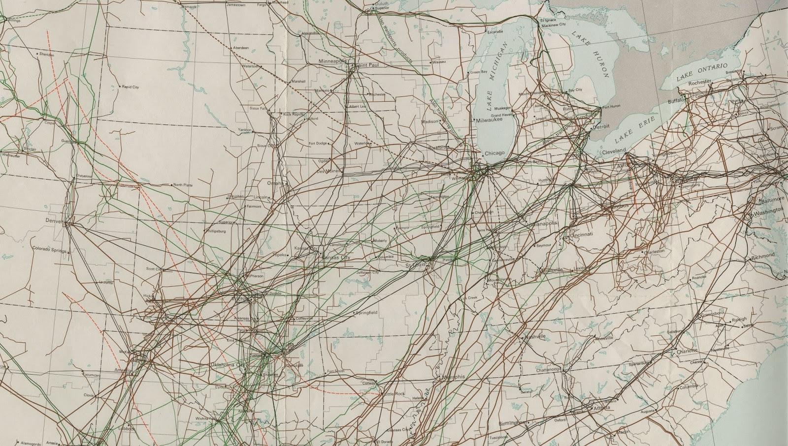 maps in the news united states crude oil pipelines