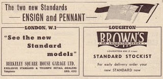 Browns of  Loughton, Essex advert from Autocar 18 Oct 1957