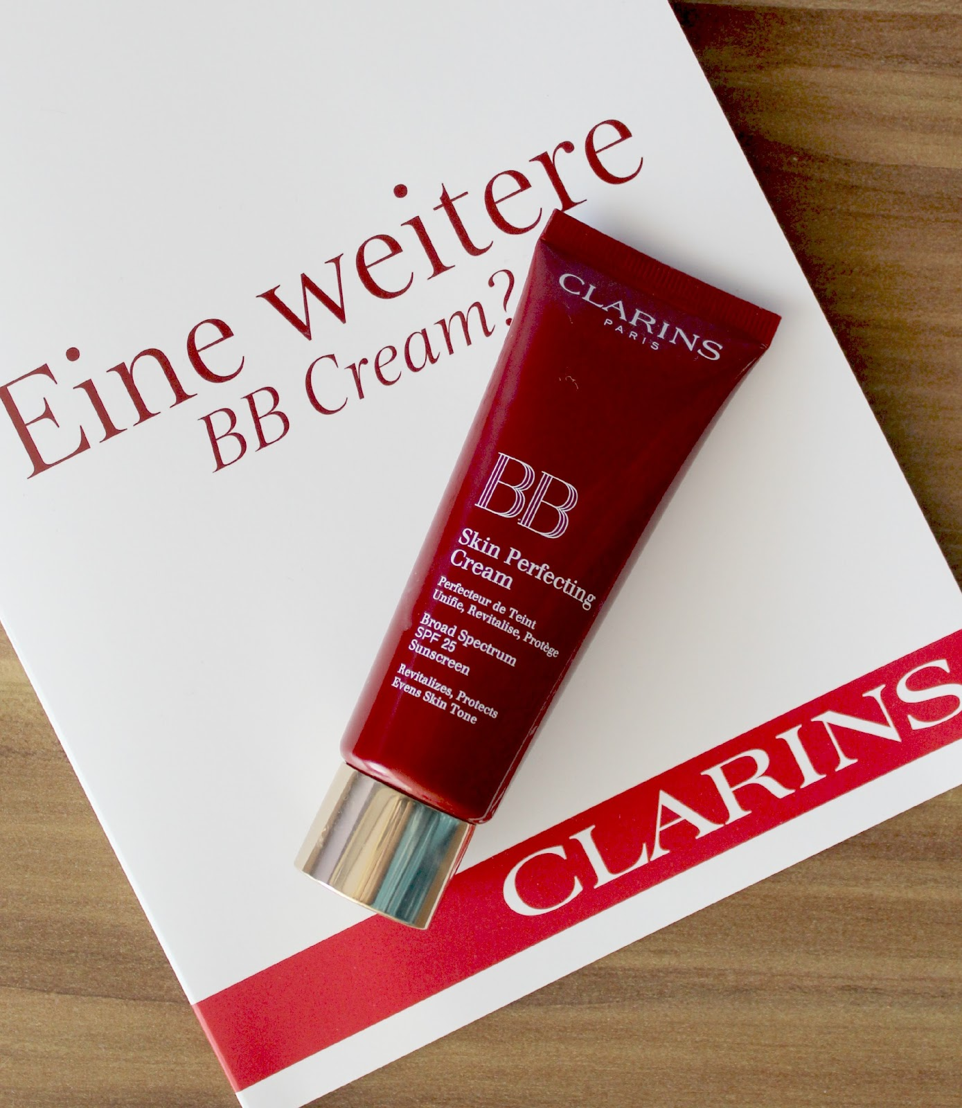 clarins skin perfecting bb cream kirschbl tenblog. Black Bedroom Furniture Sets. Home Design Ideas