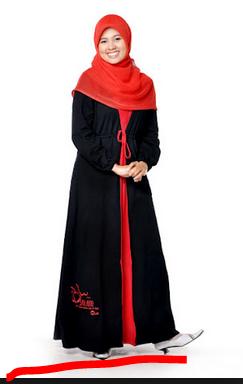 model baju muslim syar'i 2017