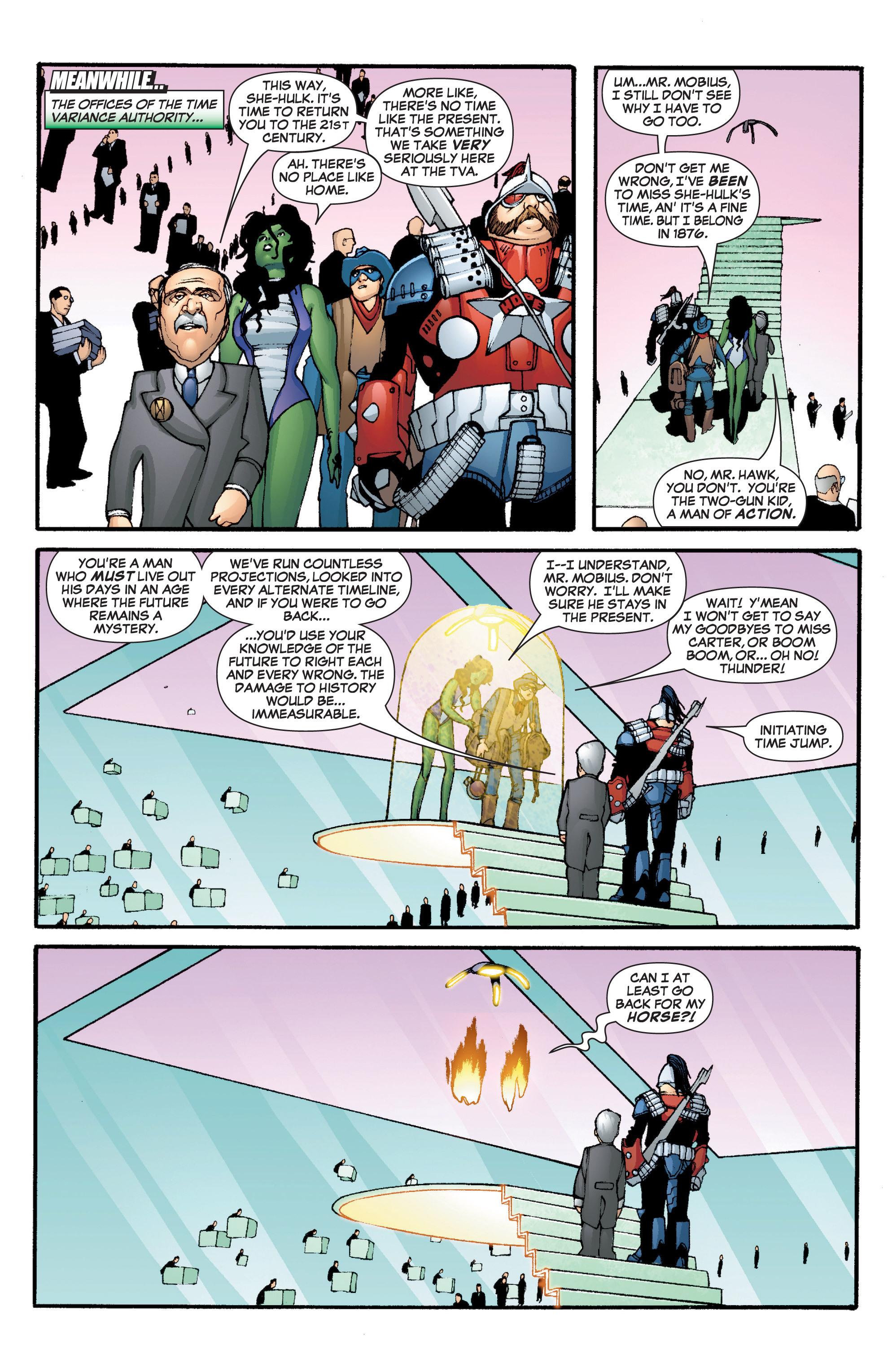 Read online She-Hulk (2005) comic -  Issue #5 - 4