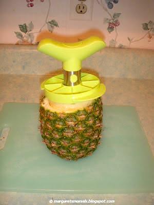 Margaret's Morsels   Fresh Pineapple