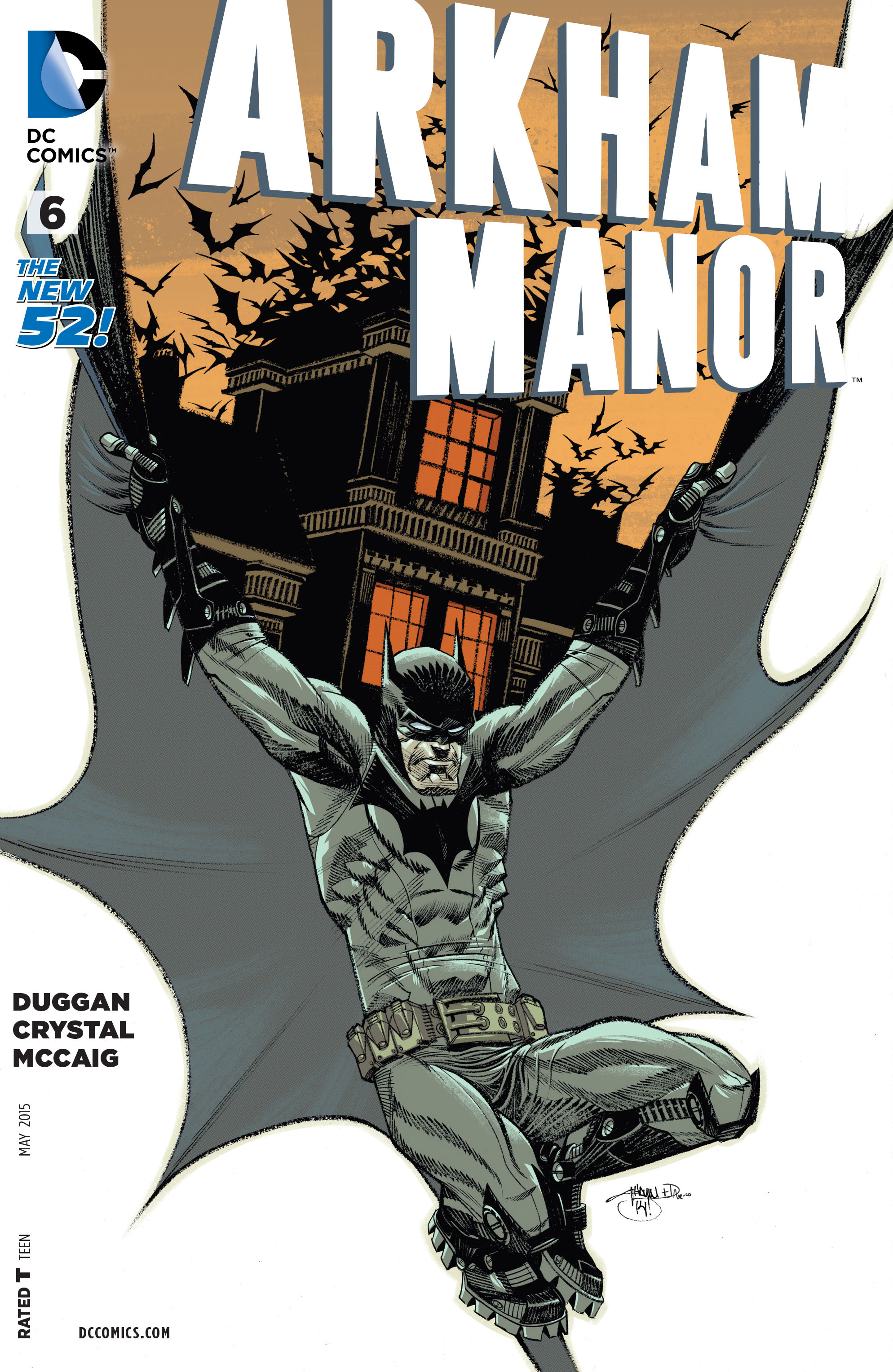 Read online Arkham Manor comic -  Issue #6 - 1