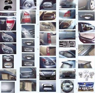 Variasi Grand New Veloz Toyota All Camry 2012 Aksesoris Mobil Avanza Murah Info Harga Di Tahun 2016