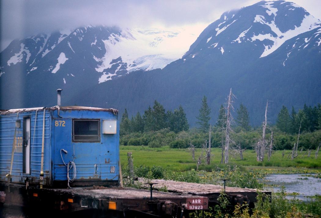 Anchorage-Grandview Glacier Discovery_Holland America Line Cruise