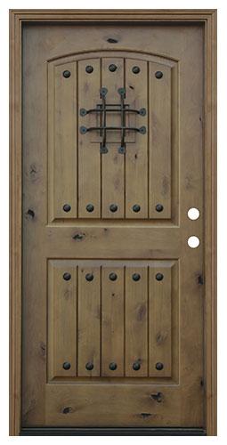 image result for alder wood plank v-grooves exterior door clavos Pacific Entries speakeasy