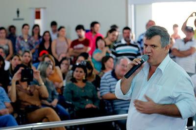 Italiano Barbarelli oficializa sua pré-candidatura a reeleição para prefeito de Cajobi